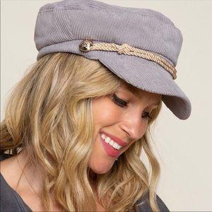 💃🏻Jamie Gray Corduroy News Boy Hat